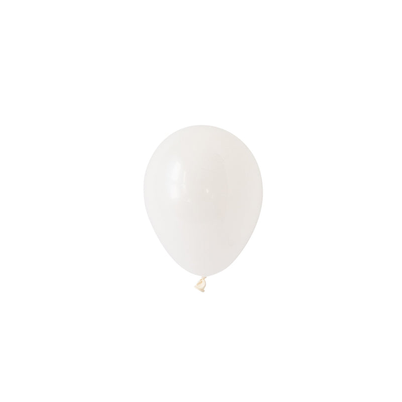 Mini White Balloons (Pack of 5)  Mini Latex Balloons Hello Party Essentials - Hello Party