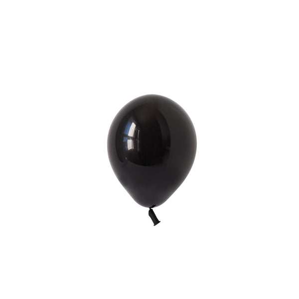 Mini Black Balloons (Pack of 5)  Latex Balloons Hello Party Essentials - Hello Party