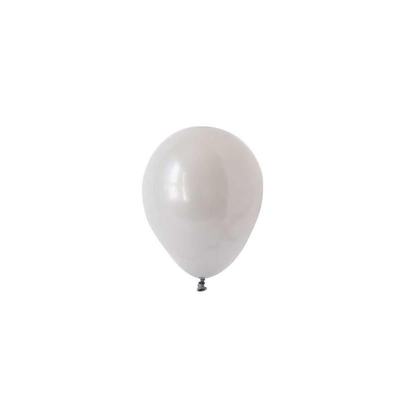 Mini Grey Balloons (Pack of 5)  Mini Latex Balloons Hello Party Essentials - Hello Party