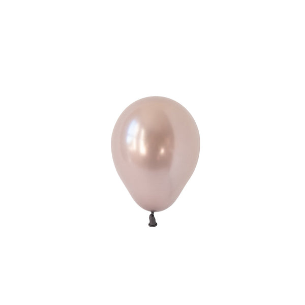 Mini Greige Balloons (Pack of 5)  Mini Latex Balloons Hello Party Essentials - Hello Party