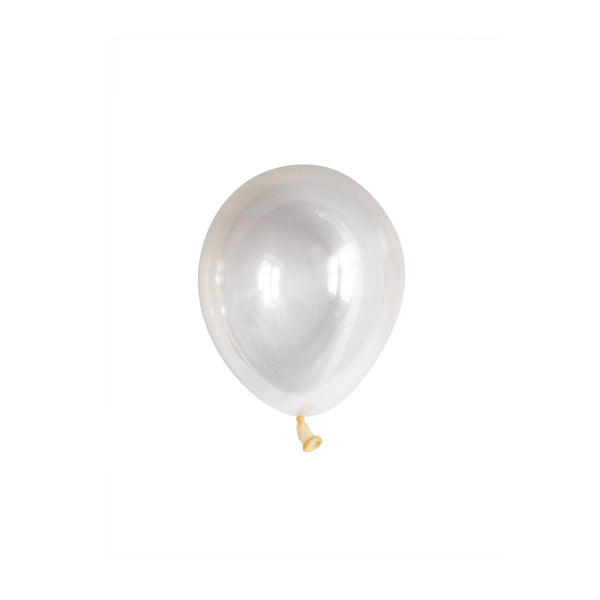 Mini Clear Balloons (pack of 5)