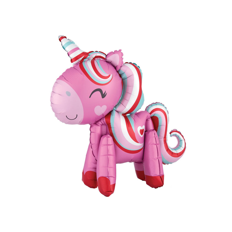 Standing Magical Love Unicorn Foil Balloon  Balloons Hello Party - All you need to make your party perfect! - Hello Party