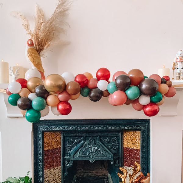 Mini Balloon Cloud Christmas Garland Kit