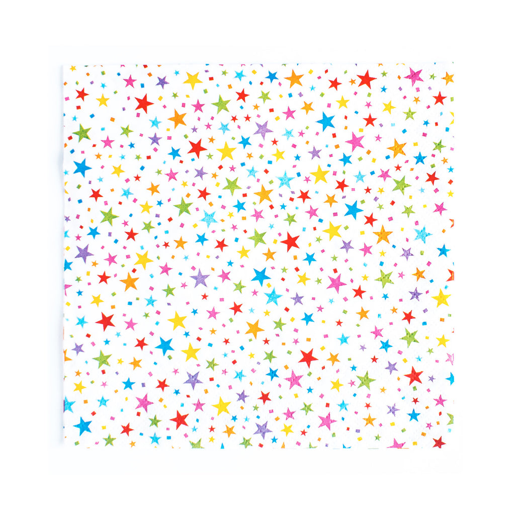 Carnival - Napkins - Stars Multi - 20 - Hello Party - All you need to make your party perfect!