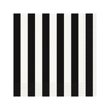 Black Striped Napkins - Hello Party - All you need to make your party perfect!