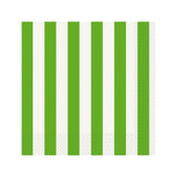 Green Striped Napkins