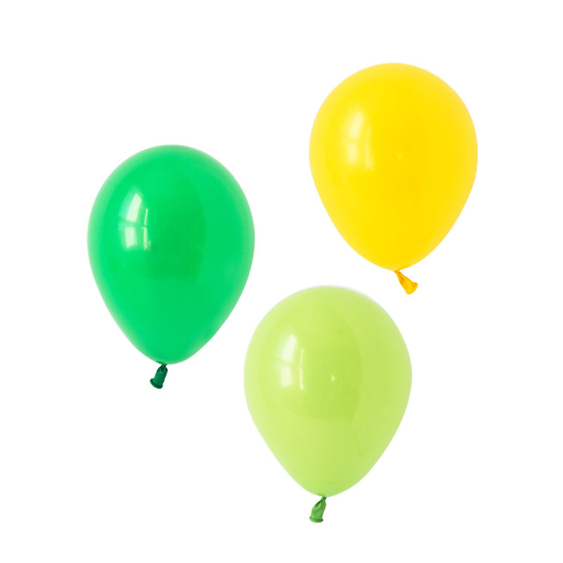 Stomping Dino Mix Balloons  Latex Balloon Collections Hello Party Essentials - Hello Party