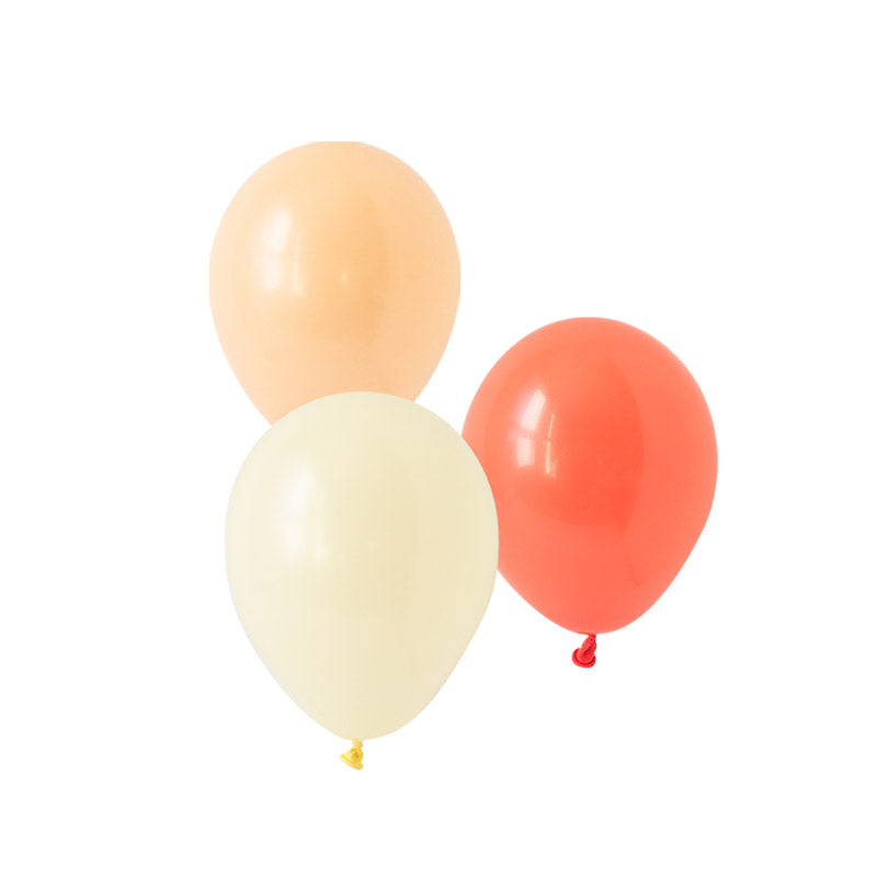 Coral Blush Mix Balloons  Latex Balloon Collections Hello Party Essentials - Hello Party