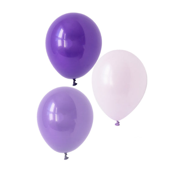 Playful Purple Mix Balloons  Latex Balloon Collections Hello Party Essentials - Hello Party
