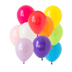 Rainbow Bright Mix Balloons  Latex Balloon Collections Hello Party Essentials - Hello Party