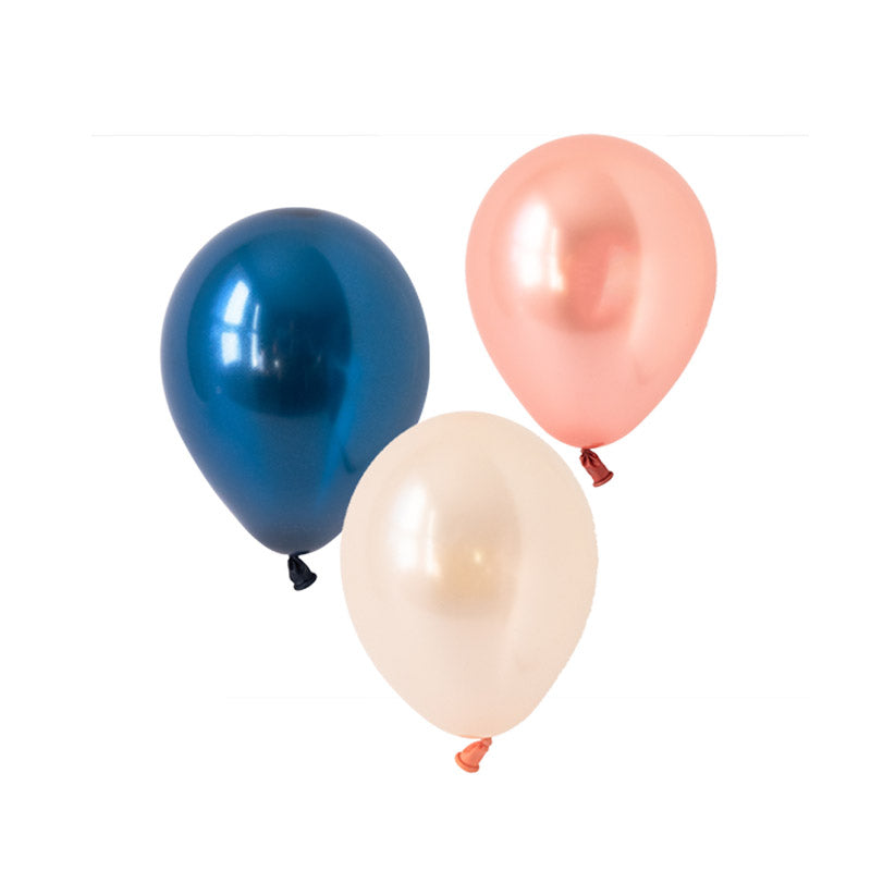 Rose Gold Luxe Mix Balloons (pack of 12)  Latex Balloon Collections Hello Party Essentials - Hello Party