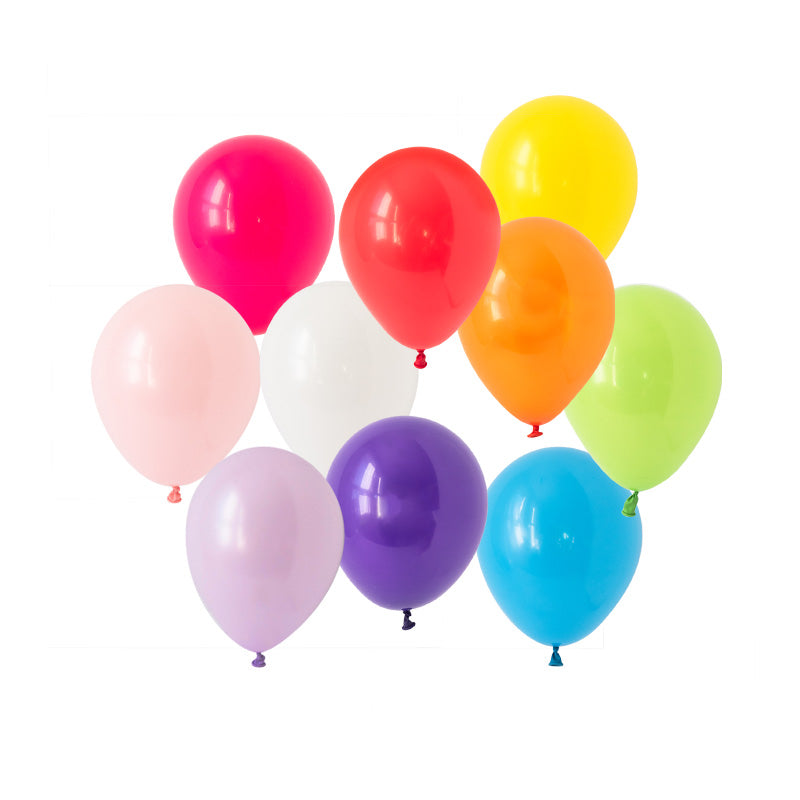 Rainbow Bright Mini Balloon Mix  Mini Latex Balloon Collections Hello Party Essentials - Hello Party