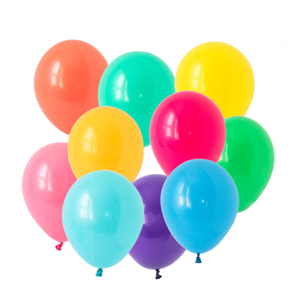 Bold Brights Balloon Mix  Latex Balloon Collections Hello Party Essentials - Hello Party