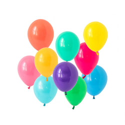Bold Brights Mini Balloon Mix  Mini Latex Balloon Collections Hello Party Essentials - Hello Party