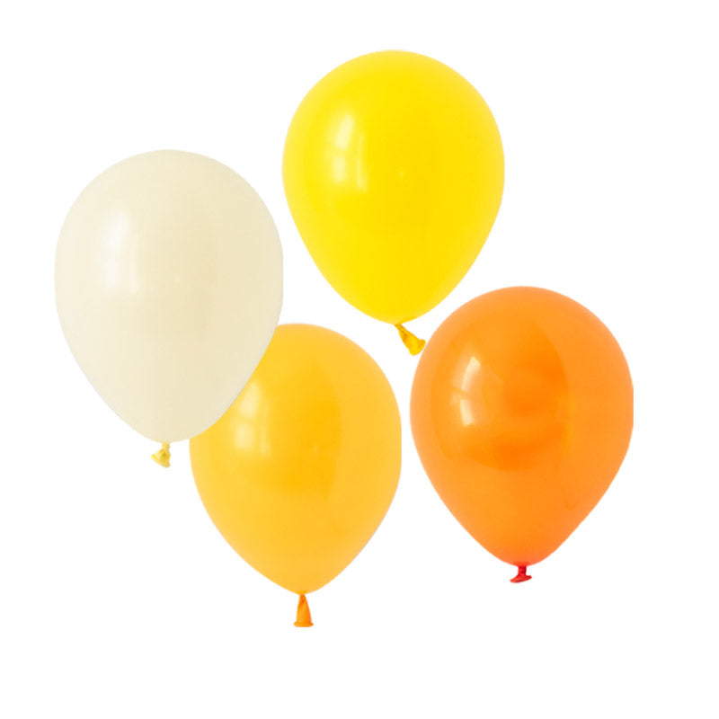 Cheerful Citrus Mix Balloons (pack of 12)  Latex Balloon Collections Hello Party Essentials - Hello Party
