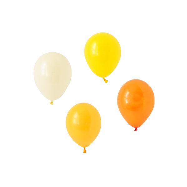Cheerful Citrus Mini Mix Balloons (pack of 12)  Mini Latex Balloon Collections Hello Party Essentials - Hello Party