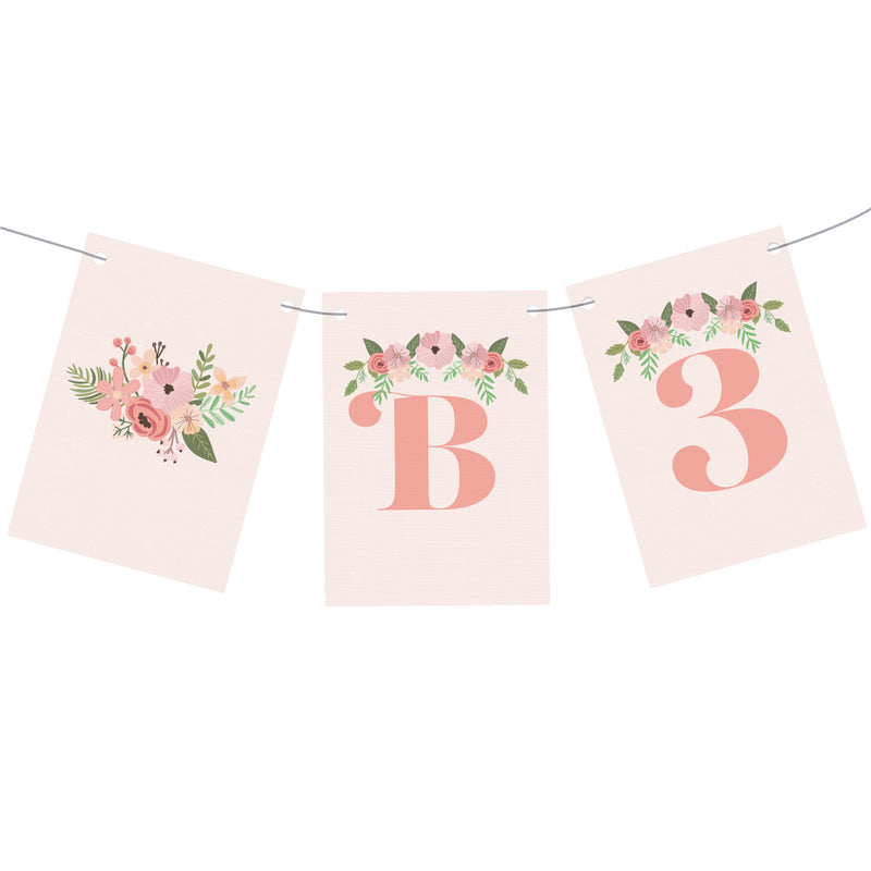 Oh Baby! Baby Shower Personalisable Bunting