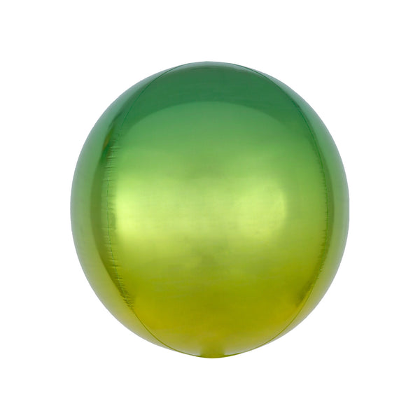 Yellow to Green Ombré Orbz Balloon Party Decorations