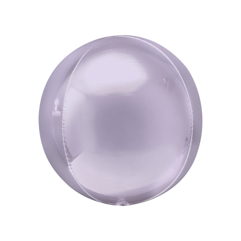 Pastel Lilac Orbz Balloon  orb balloon Anagram - Hello Party