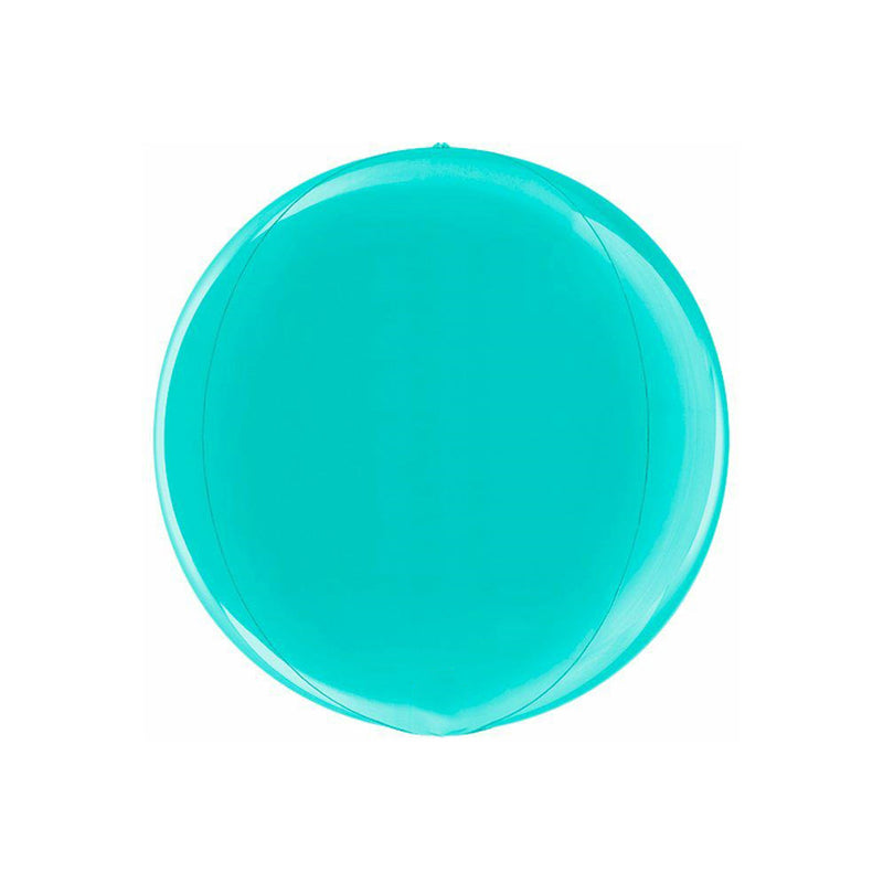 Tiffany Blue Globe Balloon  orb balloon Grabo Balloons - Hello Party