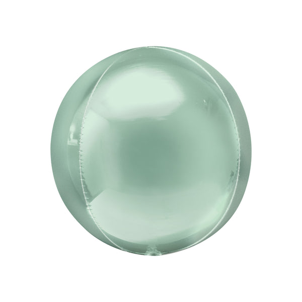 Mint Green Orbz Balloon  orb balloon Anagram - Hello Party
