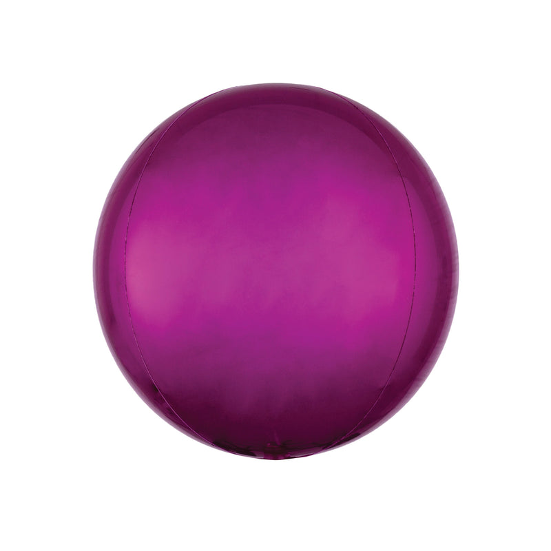 "Bright Pink Orbz Balloon (16"")  orb balloon Anagram - Hello Party"