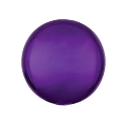 "Purple Orbz Balloon (16"")  orb balloon Anagram - Hello Party"