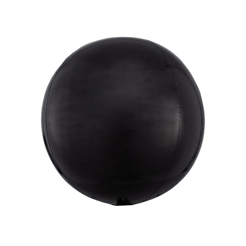 "Black Orbz Balloon (16"")  orb balloon Anagram - Hello Party"