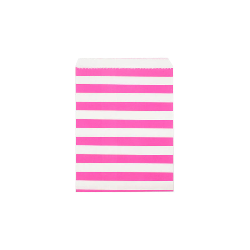 Pink sailor stripe paper party bags  Party Bags Hello Party Essentials - Hello Party