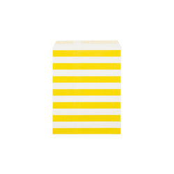 Yellow sailor stripe paper party bags  Party Bags Hello Party Essentials - Hello Party