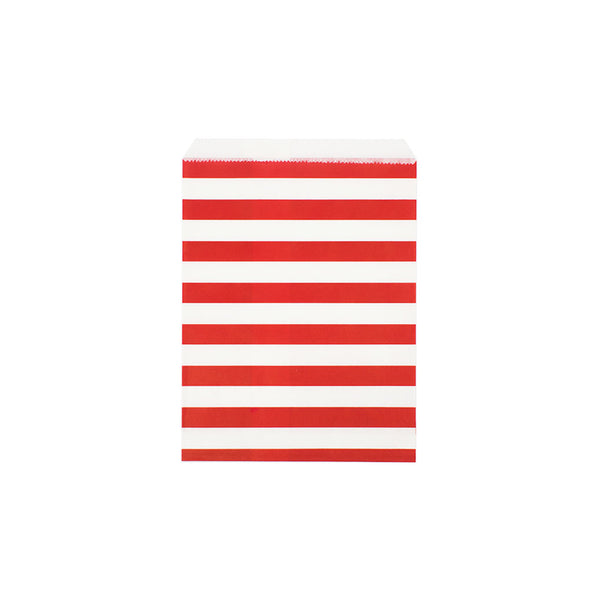Red sailor stripe paper party bags  Party Bags Hello Party Essentials - Hello Party