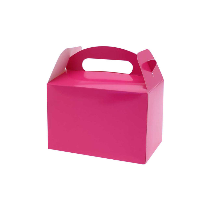 Hot Pink Party Box  Party Lunch Box HelloPartyUK - Hello Party