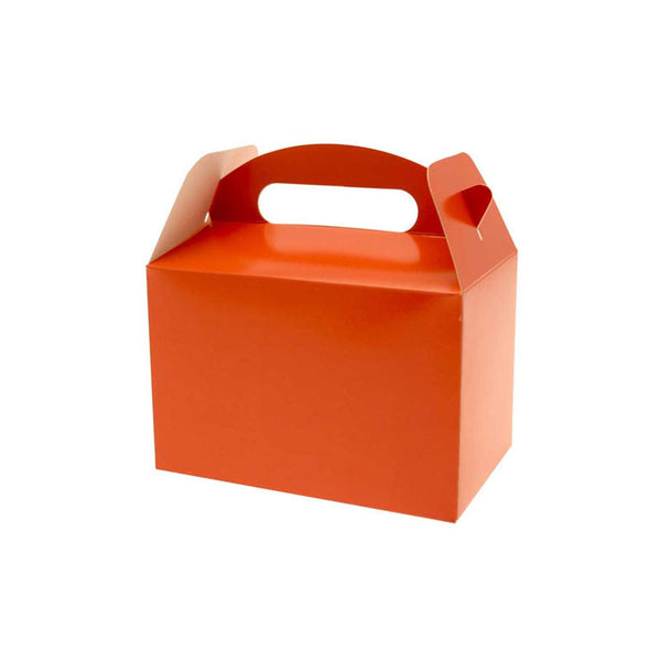 Orange Party Box  Party Lunch Box HelloPartyUK - Hello Party