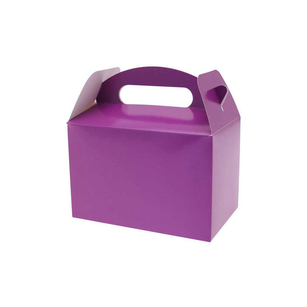 Purple Party Box  Party Lunch Box HelloPartyUK - Hello Party