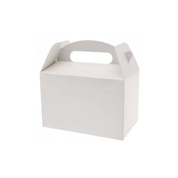 White Party Box  Party Lunch Box HelloPartyUK - Hello Party