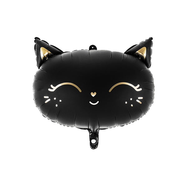 Halloween Black Cat Foil Balloon