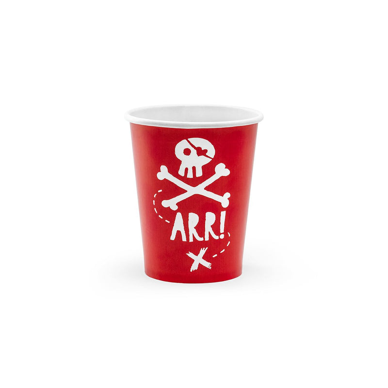 Pirate Party Cups  Party Cups Party Deco - Hello Party