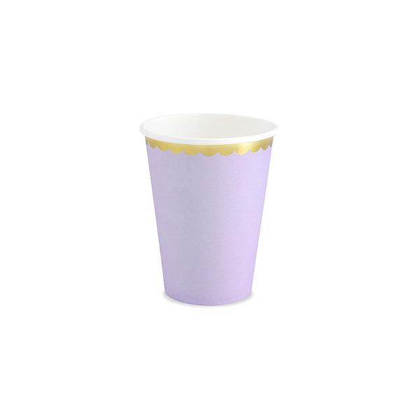 Pretty Pastels Lilac Cups | Stylish & Fun Party Tableware & Supplies
