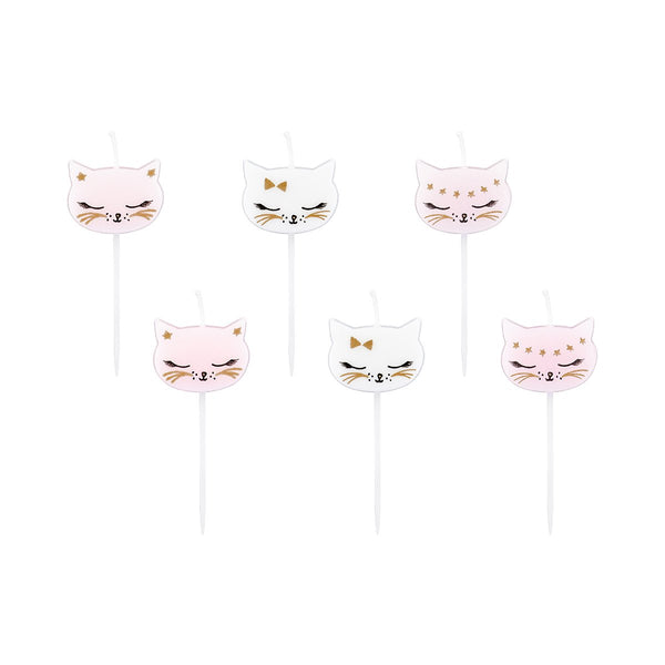 Cat Candles  Candles Party Deco - Hello Party