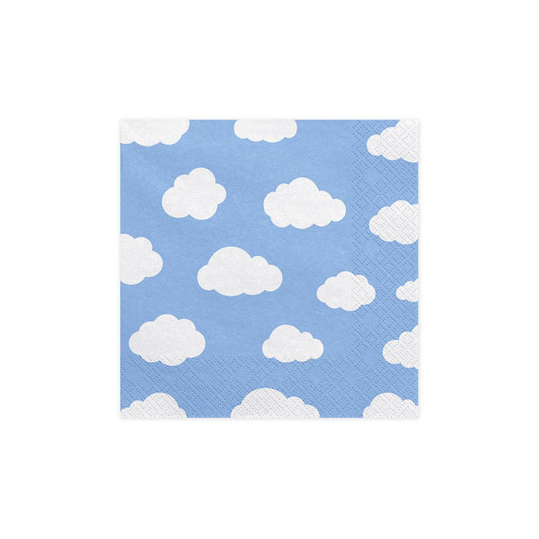 Fluffy Clouds Napkins  Napkins Party Deco - Hello Party