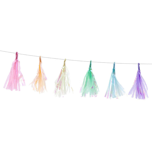 Mini Pastel Tassel garland | Stylish & Fun Party Tableware & Supplies