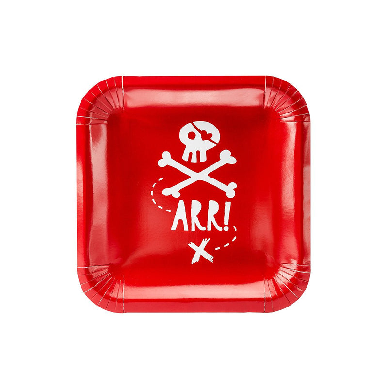 Pirate Party Plates  Party Plates Party Deco - Hello Party