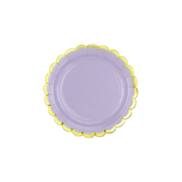 Pretty Pastels Lilac Plates  Party Plates Party Deco - Hello Party