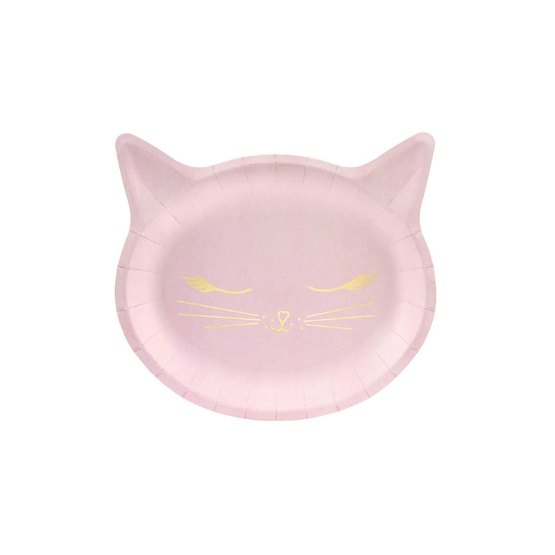 Pretty Party Cat Plates  Party Plates Party Deco - Hello Party