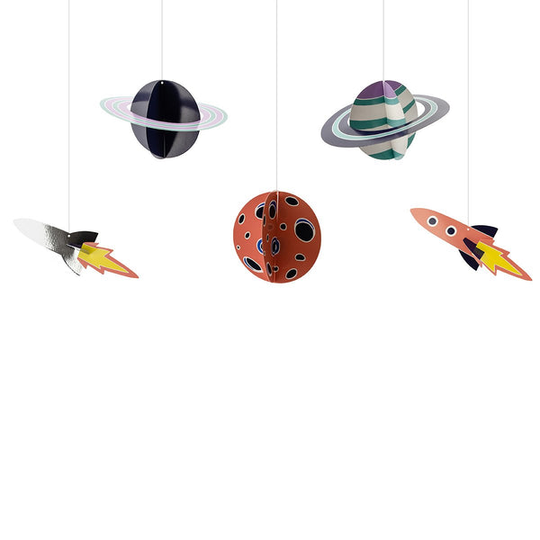 Space Party Hanging Decorations | Stylish & Fun Party Tableware & Supplies