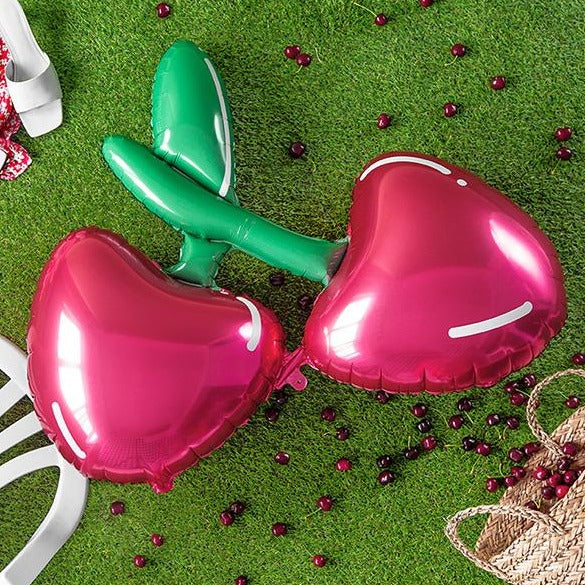 Jumbo Cherries Foil Balloon