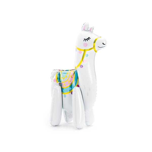 Standing Llama Foil Party Balloon