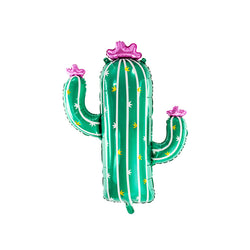 Jumbo Cactus Shaped Foil Balloon