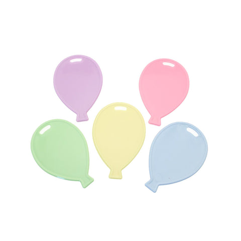 Pastel Balloon Shaped Balloon Weight