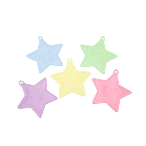 Pastel Star Shaped Balloon Weight